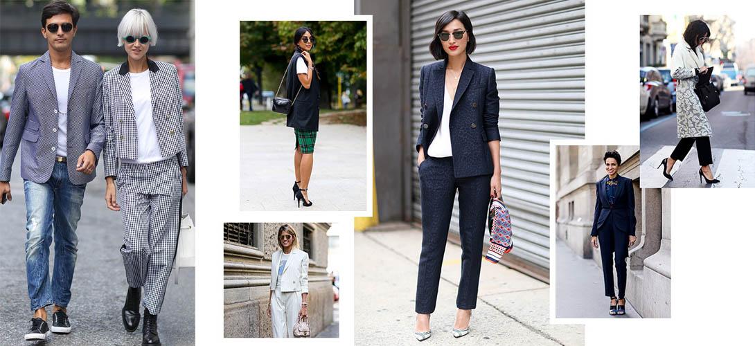 Женские офисные костюмы