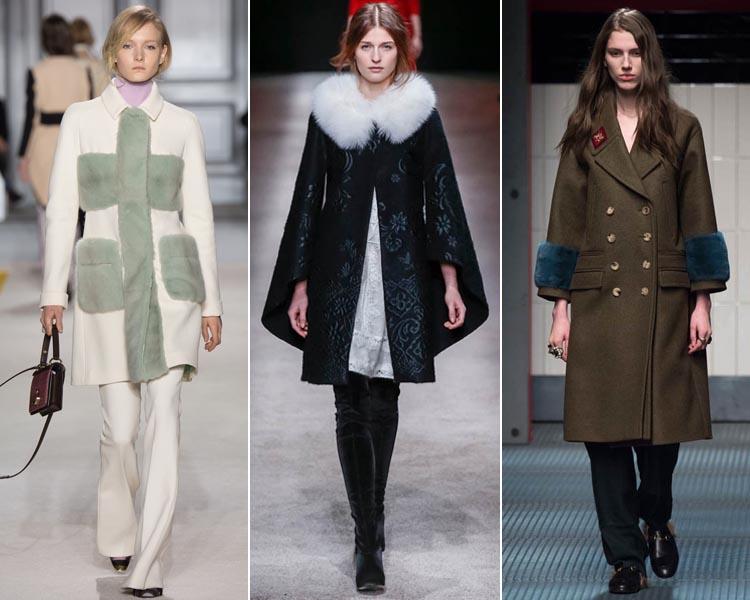 Модные пальто сезона Осень-Зима 2018