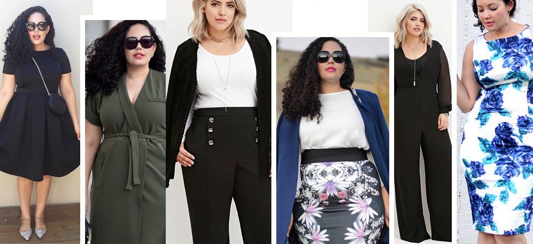 Практика: Как скрыть полноту с помощью модной одежды