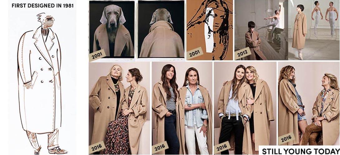 Классическое двубортное пальто Max Mara осень 2016