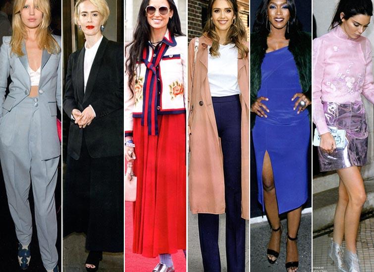 Как повторить образы звездных модниц: Деми Мур, Джорджии Мей Джаггер, Джессики Альбы и др.