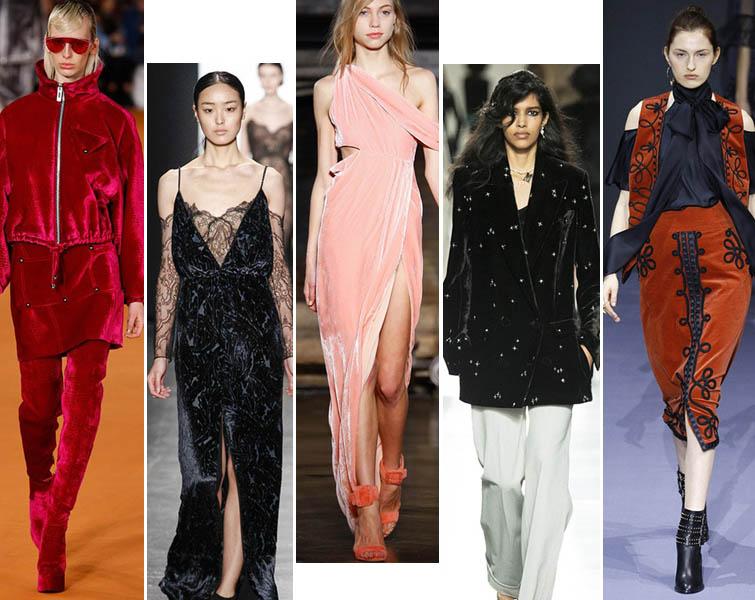 Модная женская одежда из бархата - создаем стильные образы