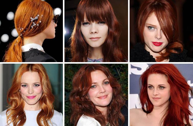 Как получить рыжий цвет волос