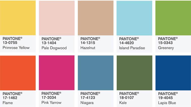 Самые модные цвета в одежде 2017 года - тренды и сочетания